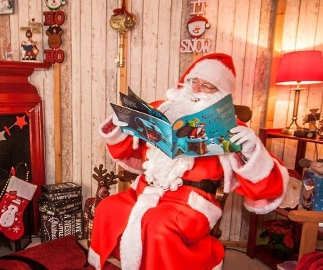 Santa-grotto at Mackenzie & Cruickshank Garden Centre, Gift Shop & Coffee Shop Forres